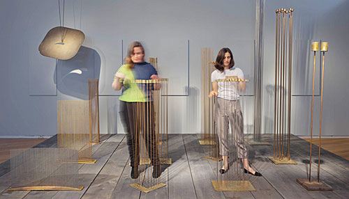 Musicians invited to create recordings with Sonambient sculptures of Bertoia at Museum of Arts and Design