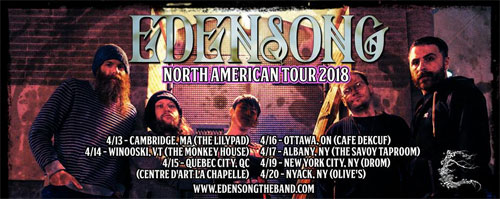 Edensong Announces April 2018 Tour