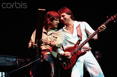 Keith Emerson and Greg Lake - Photo © Neal Preston/Corbis