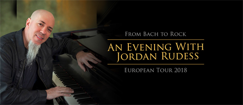 Jordan Rudess From Bach to Rock European Tour 2018 Announced