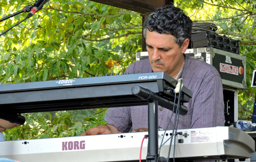 Kotebel's Carlos Guillermo Plaza at ProgDay 2014 - Photo by Angel Romero