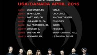"""Iconic French progressive band Magma will be touring North America in April 2015. Formed in 1969 by Christian Vander, inspired by a """"vision of humanity's spiritual and ecological future"""" the […]"""