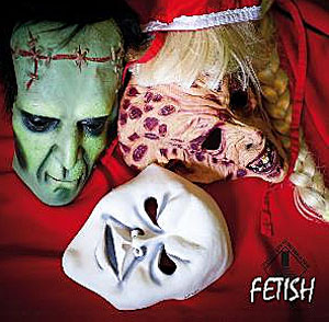 cover t of the album Fetish by German progressive rock band Seven Steps to the Green Door