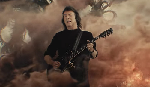 Guitar Maestro Steve Hackett Releases Video for 'Behind The Smoke'