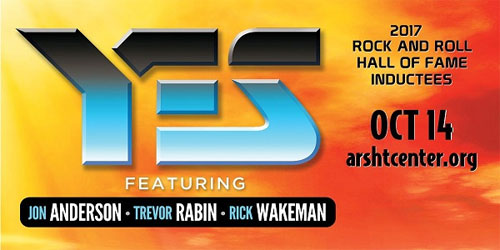 YES Featuring Jon Anderson, Trevor Rabin, Rick Wakeman to Perform in Miami