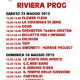 Italian international music fair Fiera internazionale della musica (FIM) has programmed a progressive rock festival called Riviera Prog that will celebrate the music of some of the country's most iconic...